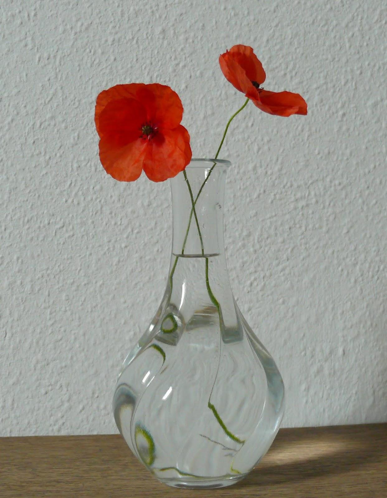 gk kreativ: Freitagsblumen und eine DIY Upcyclingvase aus Tetrapack