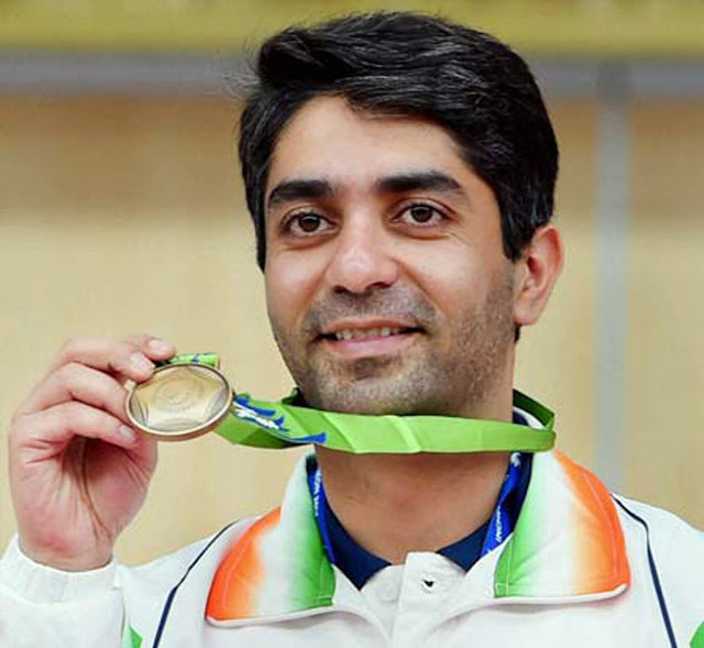 Abhinav bindra, Beijing Olympic 2008, gold medalist