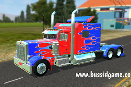 Mod Truck Peterbilt Optimus Prime By Ghoni RK