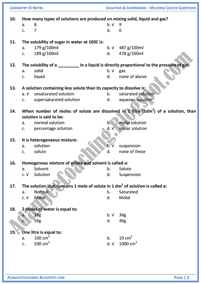 solution-and-suspension-mcqs-chemistry-ix