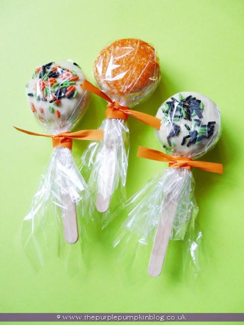 Oreo Cookie Pops | The Purple Pumpkin Blog
