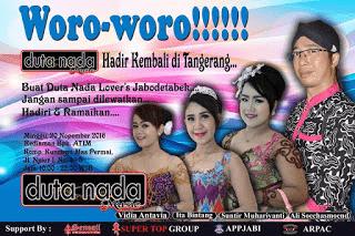 Duta Nada Hadir Kembali Di Tangerang - Minggu 20 Nopember 2016
