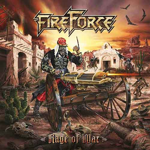 """Ο δίσκος των FireForce """"Rage of War"""""""