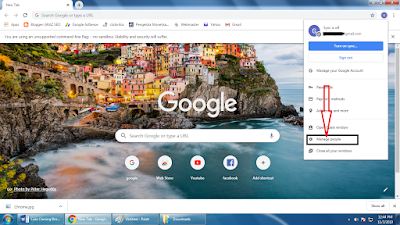 Cara Clone Google Chrome Pc