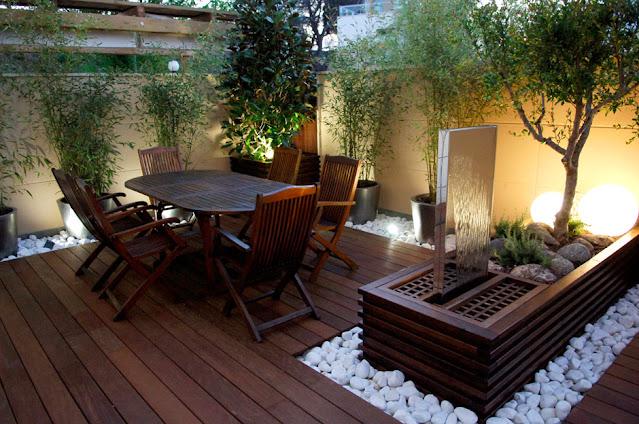 Sleek Patio Area design ideas