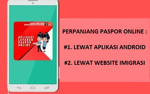 perpanjang paspor online - lewat aplikasi atau web