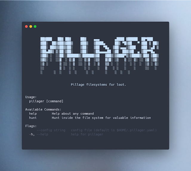 Pillager – Filesystems For Sensitive Information With Go