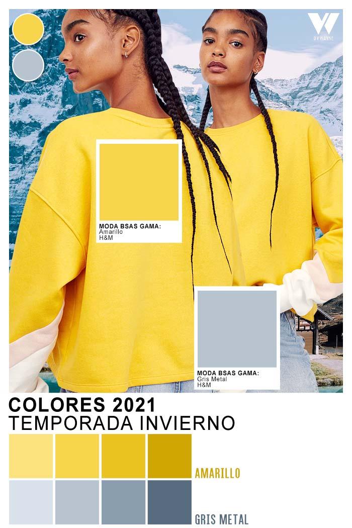 Colores del año 2021 amarillo y gris Color del año 2021
