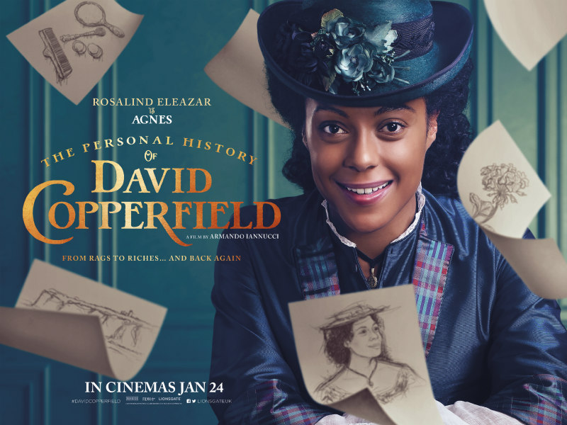 The Personal History of David Copperfield poster rosalind eleazar