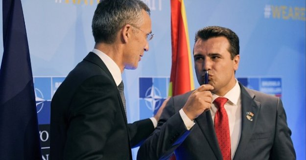 Φιέστα του Ζάεφ σε 15 πόλεις της ΠΓΔΜ για την πρόσκληση του ΝΑΤΟ