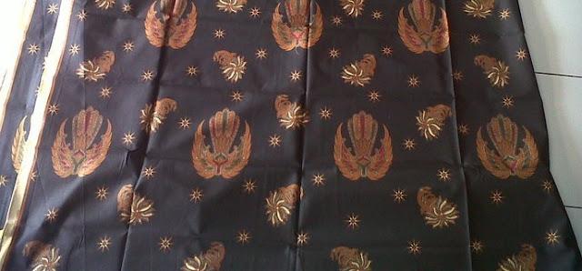 Mitos Pantangan Batik Garuda Keraton Yogyakarta