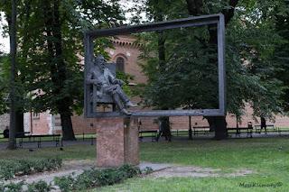 Matejko na krakowskich Plantach