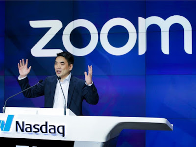 إريك يووان Eric Yuan مؤسس شركة زوم Zoom