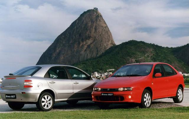 Fiat comemora 20 anos de lançamento do hatch médio Brava