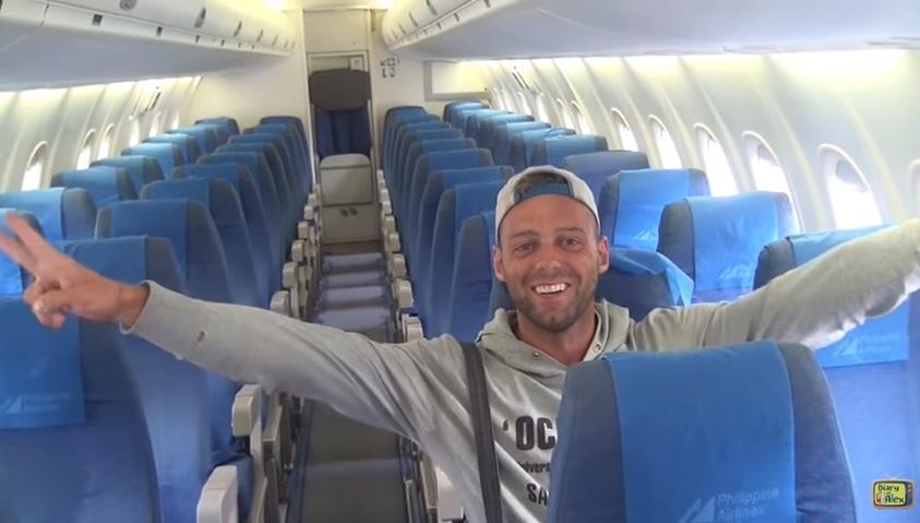 Austrian blogger boards PAL flight to Boracay alone