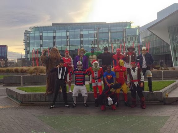 Quality pictures from Newcastle's fancy dress Christmas party