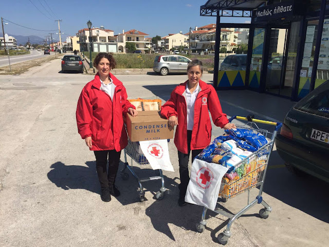 Δράσεις του Τμήματός Ναυπλίου του Ερυθρού Σταυρού για το Πάσχα