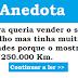 Anedota: A loira que queria vender o seu carro com 250.000 km