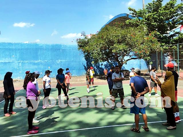 Soerabaja Tennis Academy Lakoni Laga Tandang Persahabatan ke Malang. Ini Kata Coach Warman Yudha Perkasa