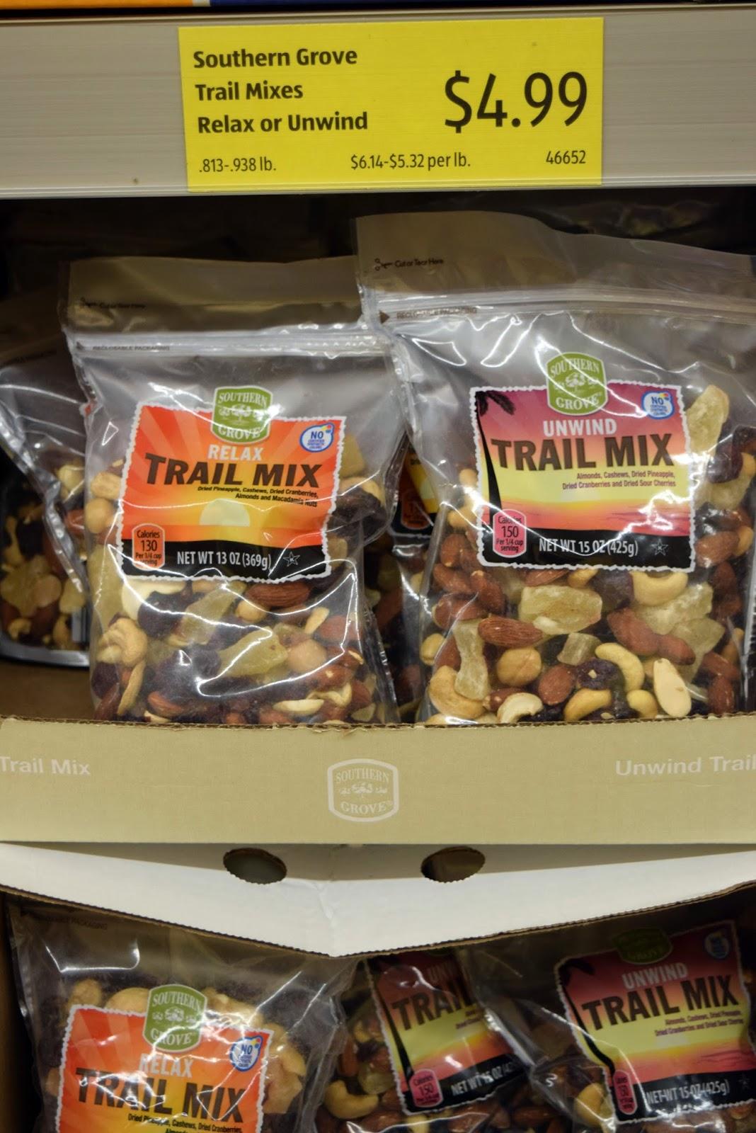 Aldi Trail Mix Nutrition