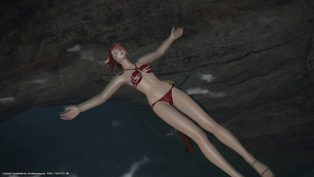 FF14 swimming