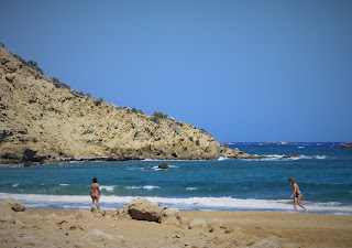 Agios Ioannis naturist beach, Plaża Agios Ioannis naturystyczna, Gavdos