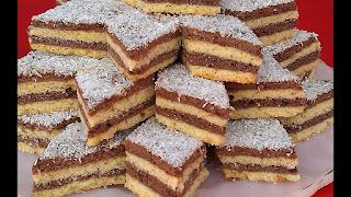 حلوة طبقات ام و ليد, حلويات لذيذة محشية بالشيكولاتة