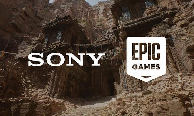 صفقة استثمار 250 مليون دولار ... سوني و Epic Games