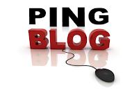 Cara PING Blog Agar Blog/url cepat terindex google