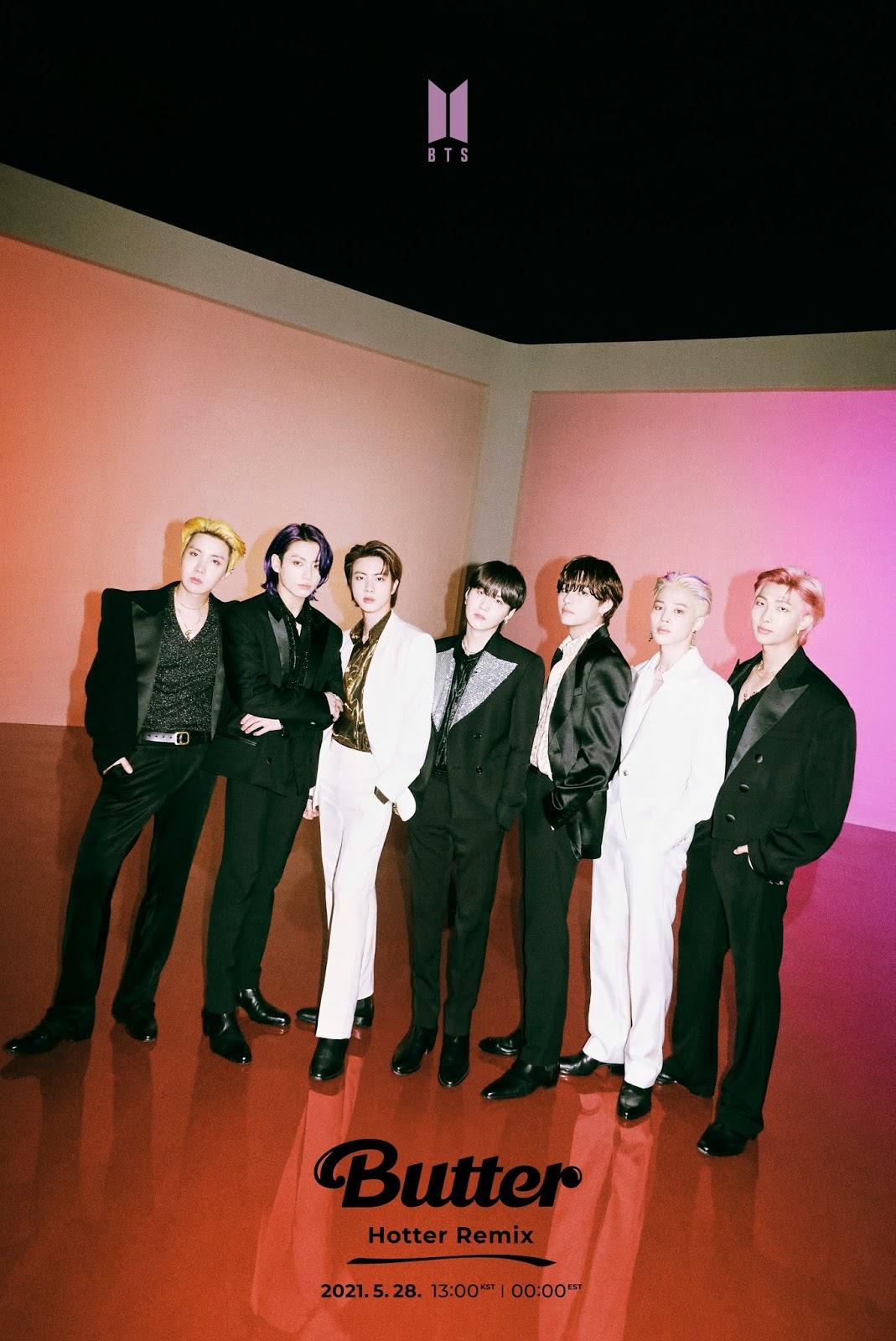 BTS vuelven con el Remix de Butter