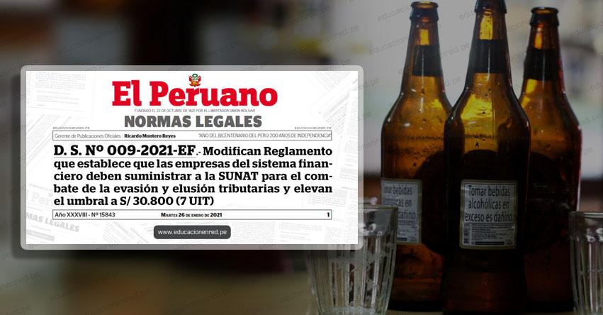 Elevan Impuesto Selectivo al Consumo para cervezas, cigarrillos, pisco y otras bebidas (R. M. N° 035-2021-EF/15)