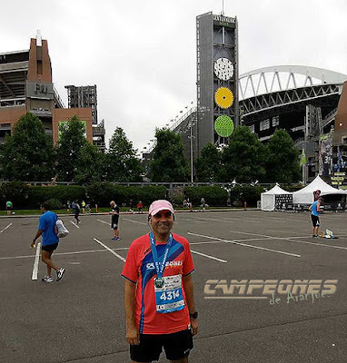 Seattle Rock n Roll Marathon 2017