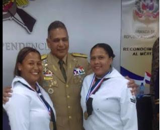 Reconocen a cabo de la Armada Dominicana oriunda de Cabral, Keyla Féliz Segura por sus méritos