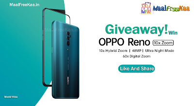 OPPO Reno Giveaway