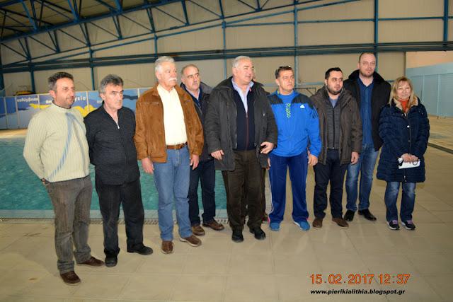 Σάββας Χιονίδης: Ο Δήμος Κατερίνης μπορεί πλέον να λειτουργήσει όλο τον χρόνο το κολυμβητήριο. Αθλητισμός ευεξίας για όλους.