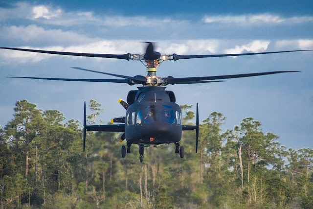 Sikorsky-Boeing SB-1 DEFIANT helicopter achieves first flight