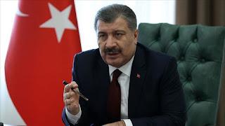 وزير الصحة التركي يكشف عن حصيلة اليوم من الإصابات والوفيات بفايروس كورونا