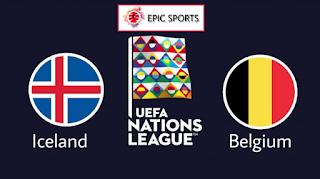 بلجيكا وأيسلندا الموعد والتوقيت والمعلقين والقنوات الناقلة  فى دوري الأمم الأوروبية
