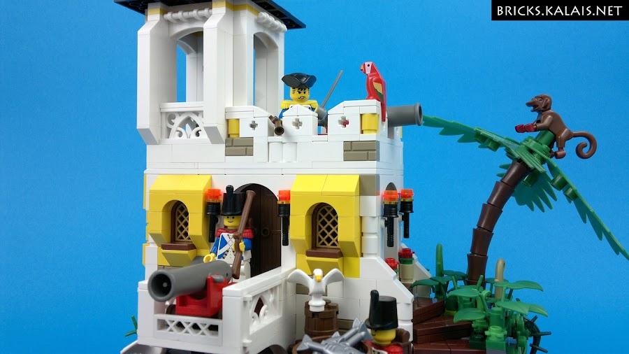 10. Gotta love those classic LEGO palm trees!
