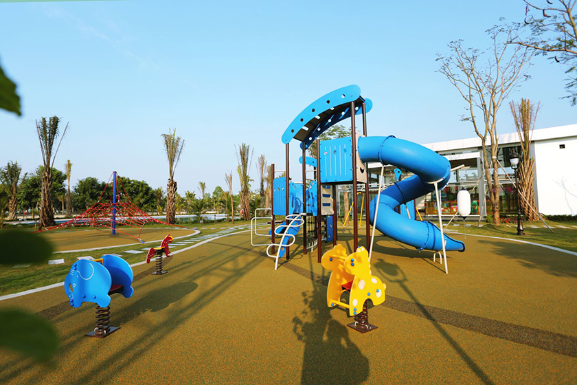 Khu vui chơi trẻ em ngoài trời tại FLC Vĩnh Phúc