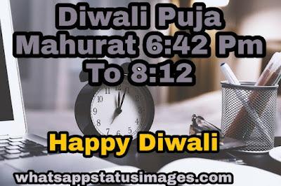 Diwali Puja Mahurat
