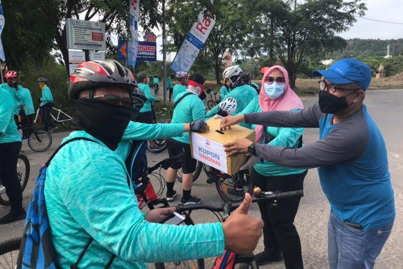 Kadisbudpar: Alhamdulillah, Event Fun Bike New Normal 2020 Sangat Patuhi Protokol Kesehatan