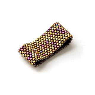 купить модное и стильное женское  кольцо из бисера