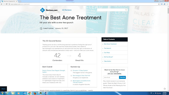 The Best Acne Treatment from Reviews.com