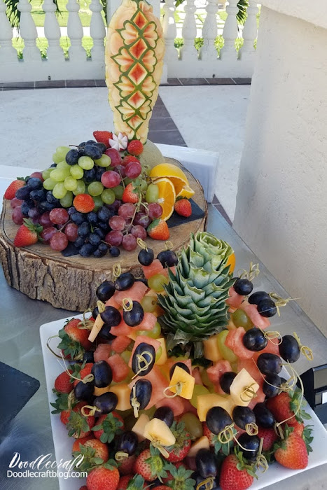 Fresh fruit at Beaches Turks and Caicos