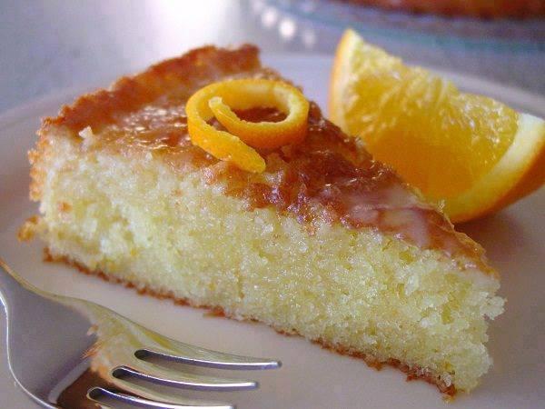 Αρωματικό κέικ - πορτοκαλόπιτα