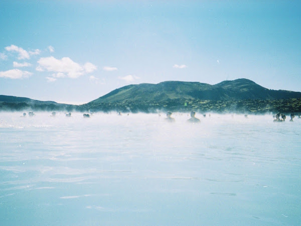 A Disposable Camera In The Blue Lagoon