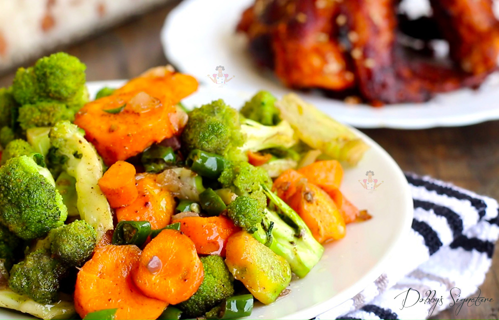 Dobbys signature nigerian food blog i nigerian food recipes i broccoli and carrot stir fry is great way to add life to a simple meal this combo is packed with the most nutritional punch of any vegetable forumfinder Gallery