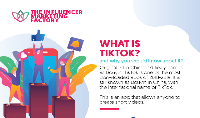 The 5 Funniest Trends On TikTok #infographic