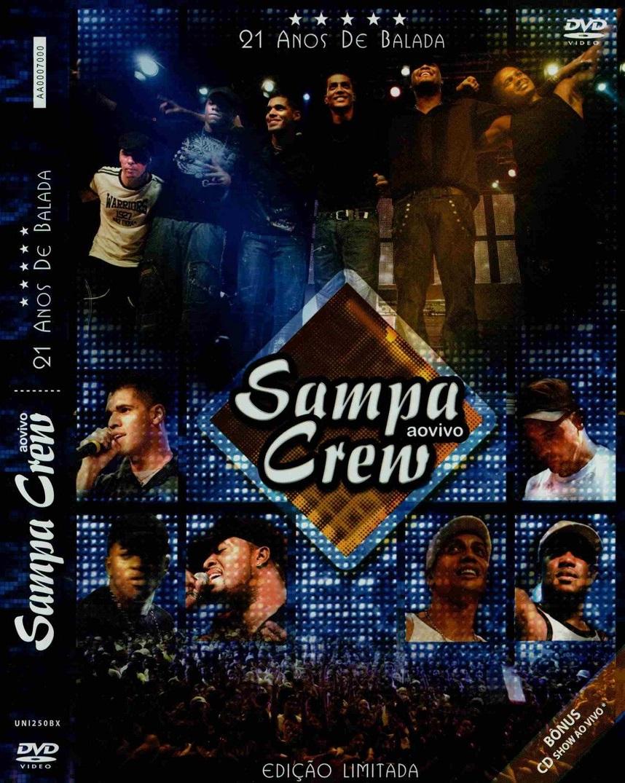 cd sampa crew 25 anos de balada